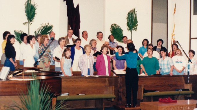 Mom directs FBC choir